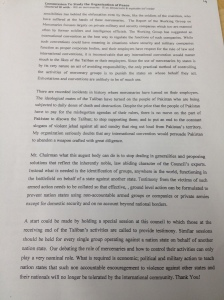 Commission to Study the Organisation of Peace. Page 1