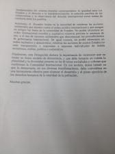 UN Statement. Ecuador. Page 2