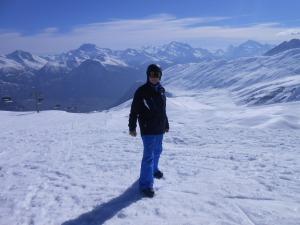 Skiing_Alfred de Zayas