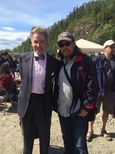 Jon Ross and Alfred De Zayas at Eklutna Pow-wow - June 8, 2014