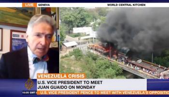 Interview with Al Jazeera on the situation in Venezuela – Alfred de